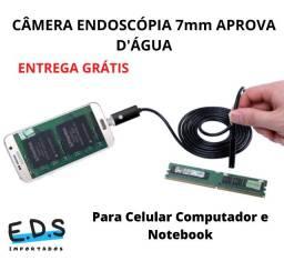 Câmera Endoscópica Para Celulares 2 Metros