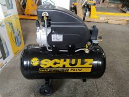 Compressor de Ar Direto Pratic Air CSI 8,5 50 Litros 120 Libras Schulz