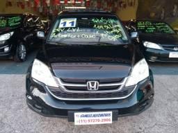 Honda cr-v LXL Couro 4x4 Automática 2011 Com Teto Solar top