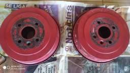 Kit freio traseiro tambor Vectra completo