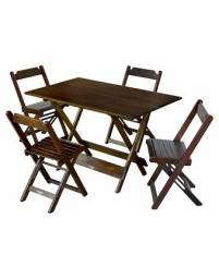Mesas e Cadeiras ? Dobraveis