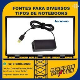 Carregador do Notebook Lenovo Ponta Quadrada com Garantia