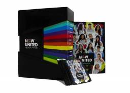 Box Premium Now United - Kit Álbum Capa Dura + 48 Envelopes