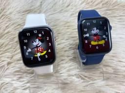 Smartwatch Iwo Ak76 - notificações WhatsApp exercícios físicos + pulseira brinde