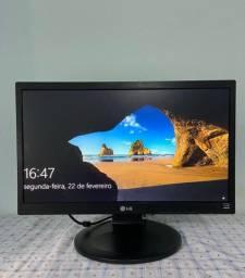 """Monitor LG 20"""" - 20M35P - Com cabo de energia e cabo VGA"""