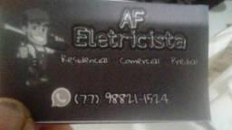 Eletricista e Encanador tecnico Arlan.