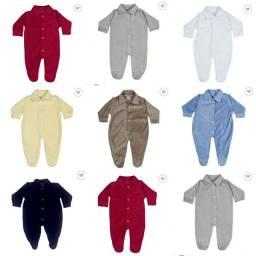 Macacao bebê kit com 5 peças menino, menina (Leiam a descrição)