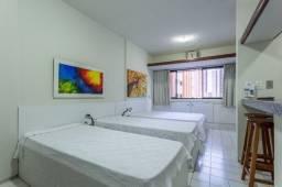 Título do anúncio: Flat 305 tipo studio, hospeda 03 pessoas, sendo uma cama de casal mais 01 cama de solteiro