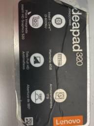 Notebook Lenovo ideapad320 i3-6006u com carregador e boa performance