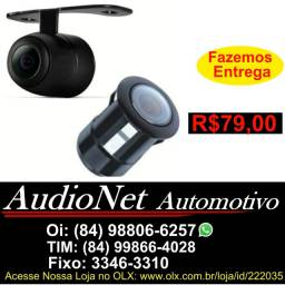 Camera de Re Para Carro Furada ou Parafusada 2x1 Estacionamento Veicular Multimidia Dvd