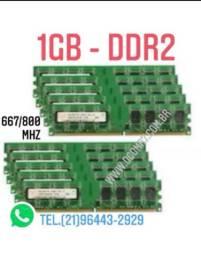Memória 1GB DDR2 Desktops