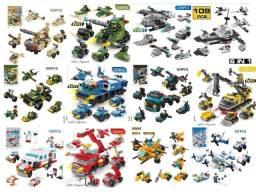 Blocos De Montar 6 Em 1 Presente Dia Das Crianças Lego