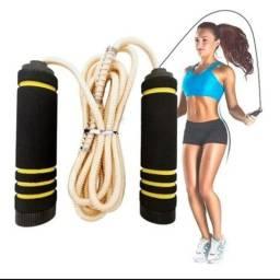 Corda Pular Jump Rope  Casa Ginastica Academia Quintal