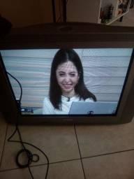 "TV Philips 29"" tela plana"