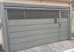 Portão Basculante Galvanizado 3.50x2.50