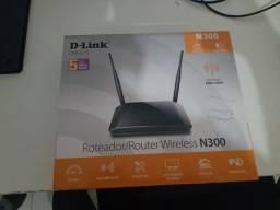 Vendo roteador D- Link N300.