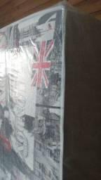 Cama box solteiro nova na embalagem com entrega GRÁTIS