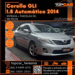 Corolla GLI 1.8 Automático 2014
