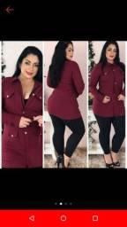 jaqueta estilo parka feminina