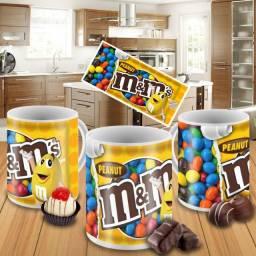 Caneca Chocolate M&M Personalizada