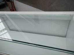 Título do anúncio: Balcão com vidro em cima e na frente 2 m