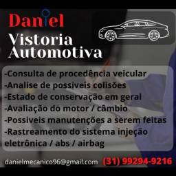 Avaliação automotiva com procedência veicular