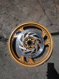Roda de alumínio ( fazer250cc até 2010 )