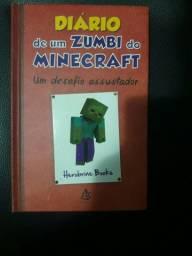 Livro Diário de um Zumbi do minecraft 1, 2, 3, 4, 5.