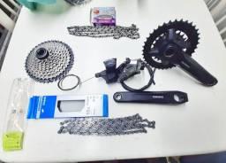 Relação Shimano 2x10, bike, bicicleta, sram, bike 29, bicicleta 29, peças