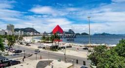 Lindo apartamento com 200 m² vista Mar na Atlantica - Copacabana. São 3 quartos, um deles