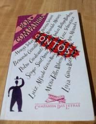 Livro Boa Companhia: Contos- Companhia das Letras-diversos autores contemporâneos