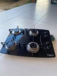 Fogão  cooktop sugggar 4 bocas