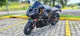 Kawasaki zx6r 2.010 preta (procedência e excelente estado):