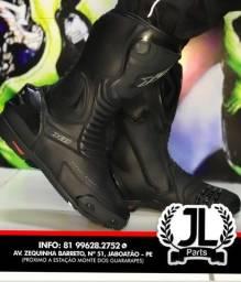 Botas de motociclista Forza, X11 e Texx a partir de R$ 550,00 3x no cartão JL Parts