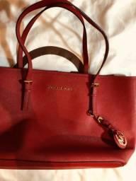 Bolsa MK original vermelha