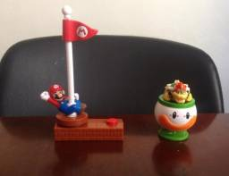 Lote sete personagens Mario Bros