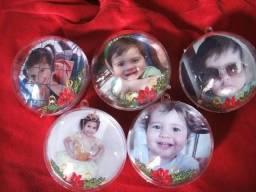 Kit Bolinhas de natal com foto