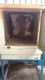 Forno estufa de secagem com termopar e painel de controle