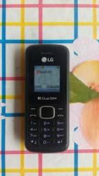 Vendo um celular lanterninha lg 2 chips valor 60,00