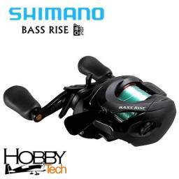 Carretilha Shimano Bass Rise - Manivela Direita