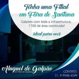 Galpão com 2.500m² em Feira de Santana - BA ótima localização