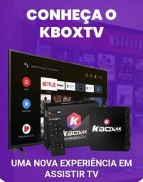 KBox TV4k/ O MELHOR TVBOX! APENAS ENCOMENDAS/ FRETE GRÁTIS P/ TODO O BRASIL!