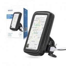 Suporte celular para moto preso no no retrovisor. (Entrega Grátis)
