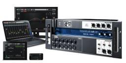 Mixer Digital com Controle Remoto de 16 entradas - Mesa de Som digital