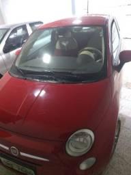 Fiat 500 vermelho