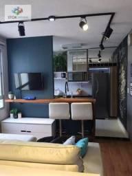 Apartamento com 2 dormitórios à venda, 40 m² por R$ 230.000,00 - Jardim Ansalca - Guarulho