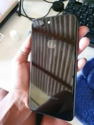 iPhone 7plus 128GB preto brilhante