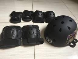 Kit de proteção para patins