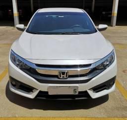 Civic 2017 G10 Exl Aut(Cvt) Flex Branco Perolizado - 2017