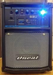 Caixa amplificada oneal ocm-260 usb / sd / fm / search 6'' - 40w rms